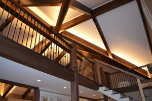 Cheating for nice roof beams